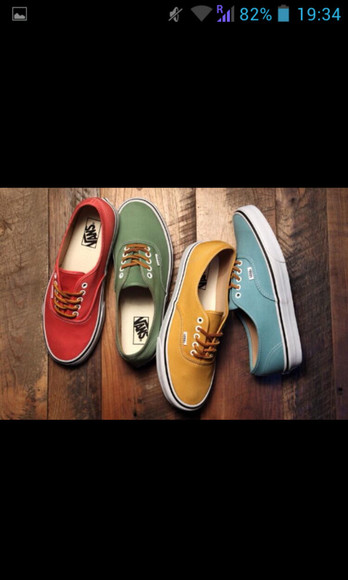 vans shoes girl