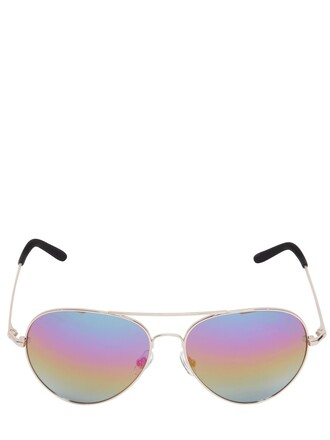 metal sunglasses aviator sunglasses gold