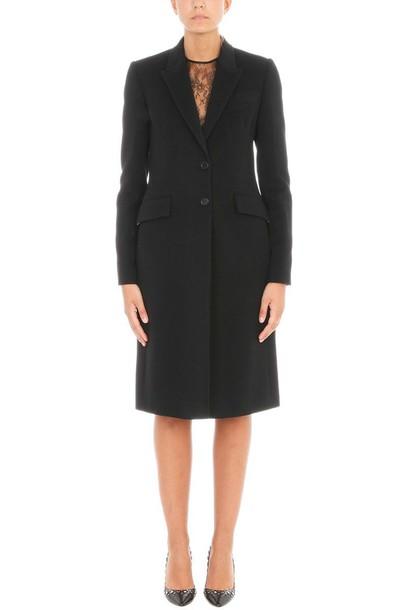Givenchy coat black coat black beige
