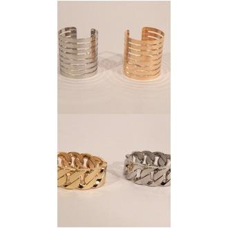 jewels gold bracelet silver bracelet gold cuff silver cuff chain link chain link bracelet rihanna jewelry bracelets yonce jayz beyonce