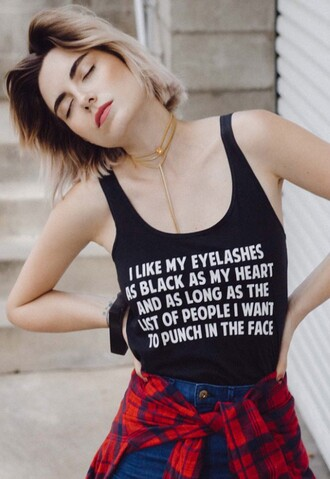 top quote on it black black and white fashion style trendy tank top cool freevibrationz free vibrationz