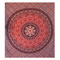 Online graceful red hippie mandala tapestry for home decorate - handicrunch
