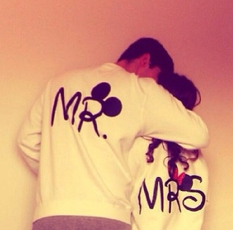 sweater mickey mouse black minnie mouse mr. mrs. pink by victorias secret disney hoodie matching couples mr and mrs