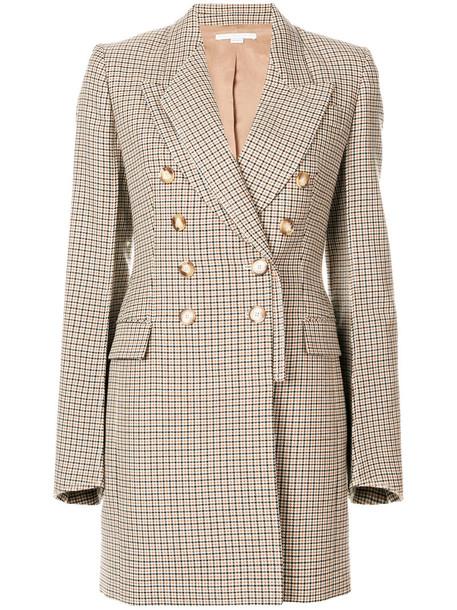 Stella McCartney coat double breasted women cotton wool