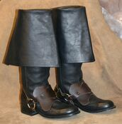 shoes,black leather boots,brown leather boots,leather boots,over the knee boots,brown leather over the knee boots,victorian,steampunk