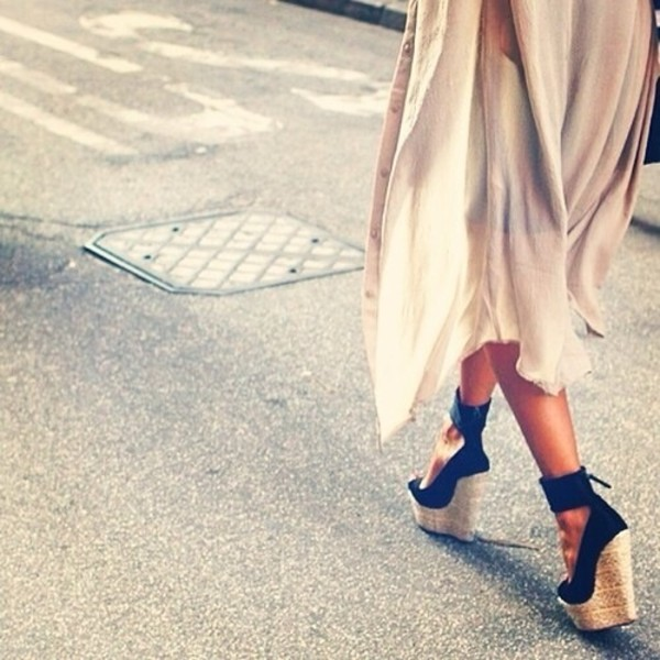 shoes wedges high heels blue maxi sexy coat heels summer black gorgeous shoes espadrilles shoes black wedges high heels black dress nude dress