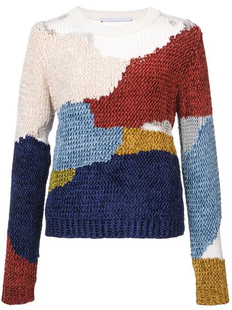Rosetta Getty pullover women cotton wool sweater