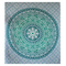 Light green printed wall hanging tapestry online shipping