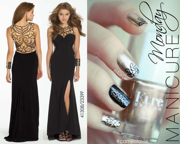 dress black prom dress long prom dress
