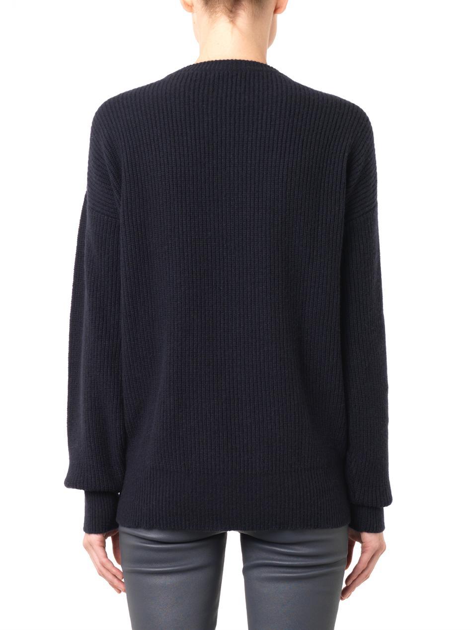 Crew-neck ribbed-knit cashmere sweater | Freda | MATCHESFASHIO...
