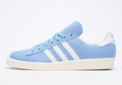 shoes,adidas,campus 80s,retro,adidas trainers,trainers,pastel blue,pastel coloured,adidas campus,pastel sneakers