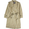 Long heritage trench coat