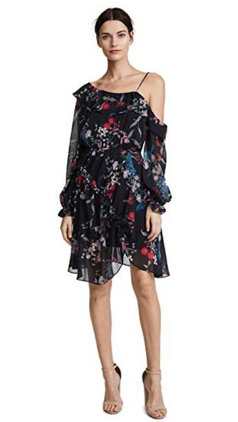 Keepsake dress mini dress mini floral black