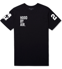 Hood by air. black/white hba x been trill t