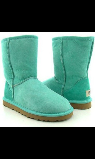 shoes blue uggs