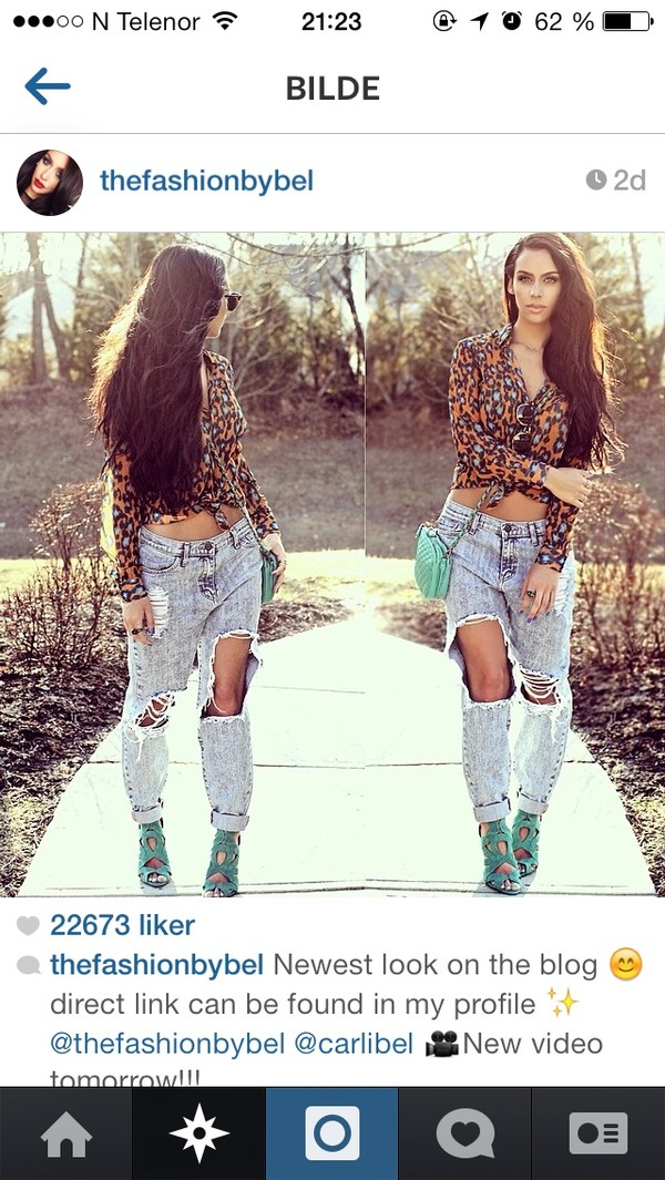 jeans thefashionbybel boyfriend jeans ripped jeans