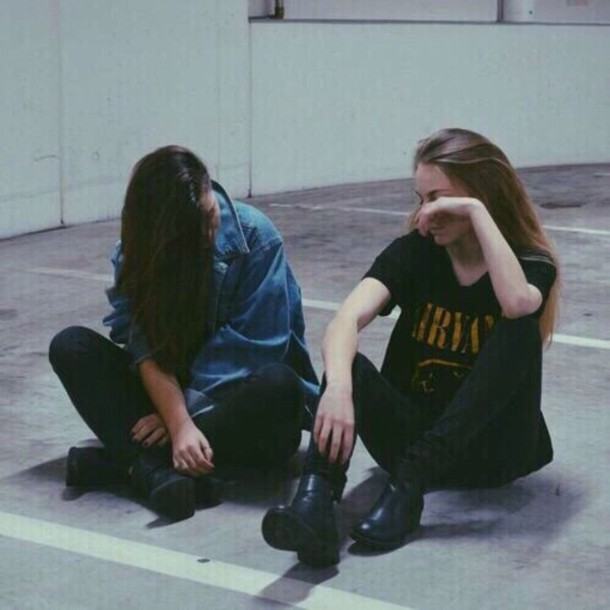 t-shirt denim jacket jeans jeans black jeans boots combat boots nirvana nirvana t-shirt nirvana t-shirt nirvana t-shirt yellow smiley 90s style grunge shirt soft grunge