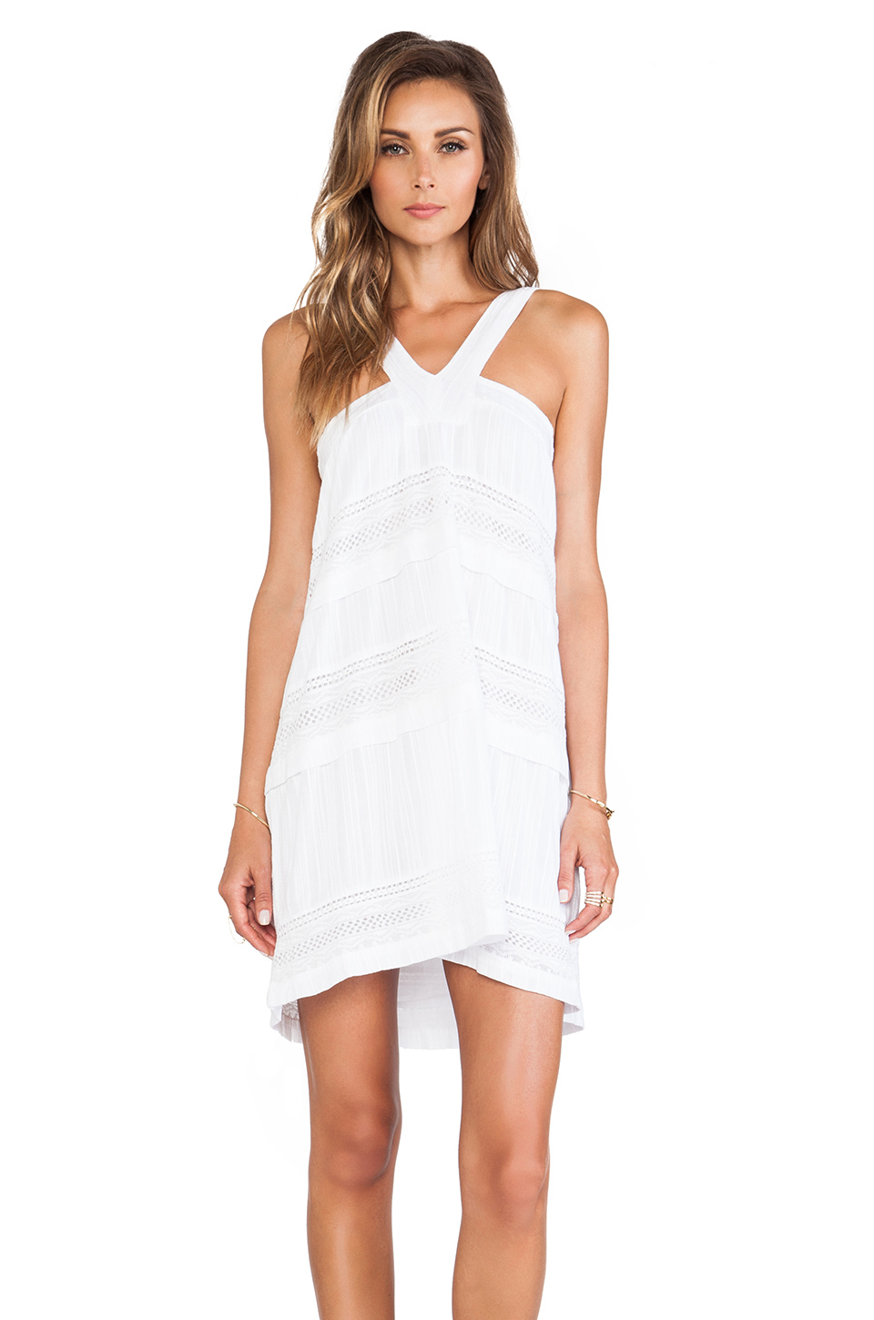d.RA Shanna Dress in White from REVOLVEclothing.com
