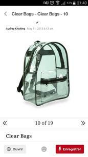 bag,clear backpack,transparent  bag,backpack,transparent,transparent backpac