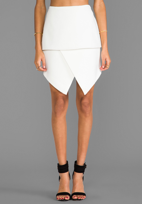 CAMEO New Light Skirt in Ivory at Revolve Clothing - Free Shipping!