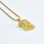 Micro Jesus Piece Necklace                           | The Gold Gods Jewelry