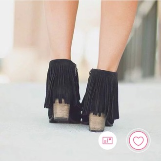 shoes boots heels festival black tassel