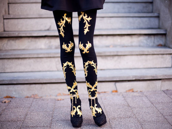 pants leggings gold tights black black leggings leggings gold golden moments cutie cute beautiful totally awesome
