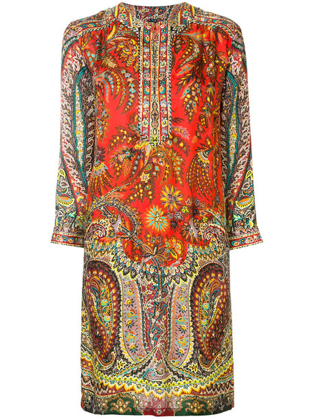 ETRO women print silk top