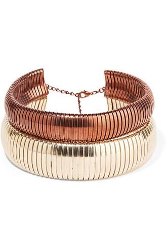 gold copper jewels
