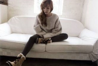 tiffany jumper elle korea elle korea korean fashion