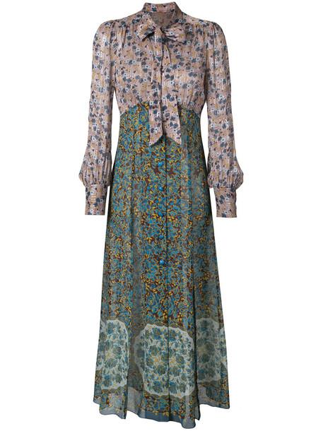 dress maxi dress maxi women floral silk pattern