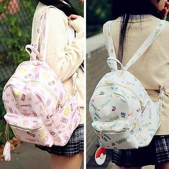 bag pokemon sailor moon backpack