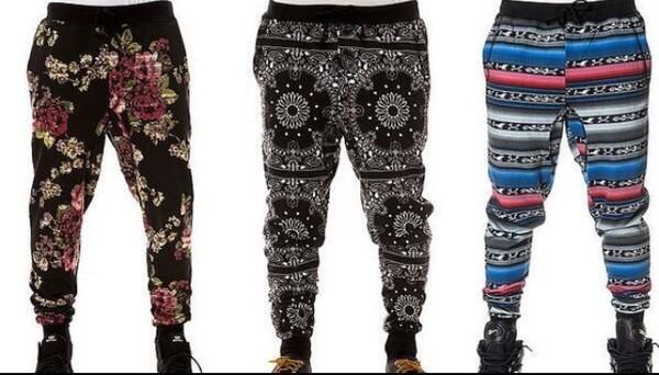 pants cute harlem pants bandana print swag swag swag
