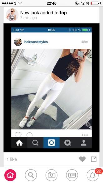 jeans white skinny jeans