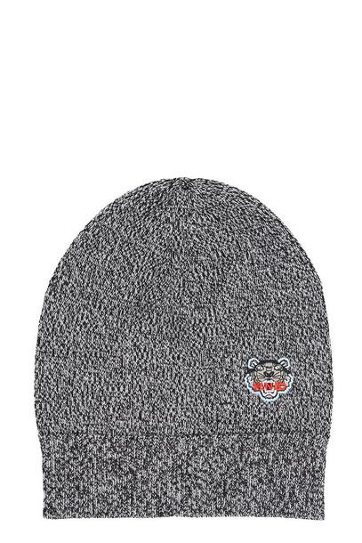 Kenzo Mini Tiger Beanie Hat in grey
