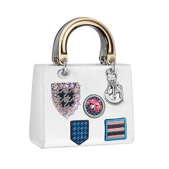 bag handbag patched bag white bag dior bag dior