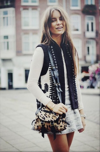 cardigan vest style fashion black and white black white fall outfits winter outfits summer pattern pretty brunette lace print wool colorful city