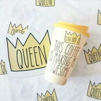home accessory yeah bunny tumbler cute coffee queen mug queen