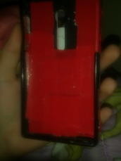 phone cover,red