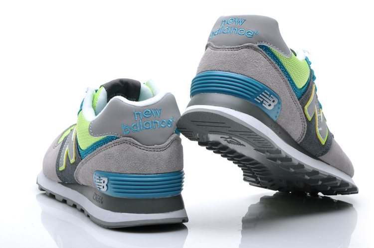 New Balance 574 Classic Mens Running Shoes Grey Green White [New Balance000223] - $76.99 : New Balance Running Shoes | Nike Air Max Running Shoes | Nike Cortez Running Shoes | Nike Free Running Shoes