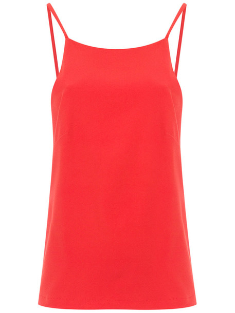 Olympiah top straps women spandex red