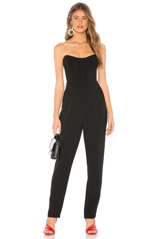 NBD Caroline Jumpsuit in black