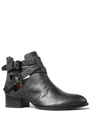 Jeffrey Campbell Boots Cut Outs in Black  -  Karmaloop.com