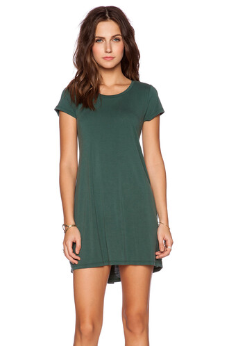 dress shirt dress green