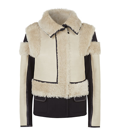Chloé reversible patchwork jacket