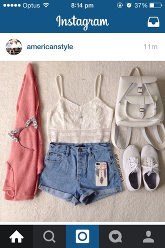 top white tee lace tops
