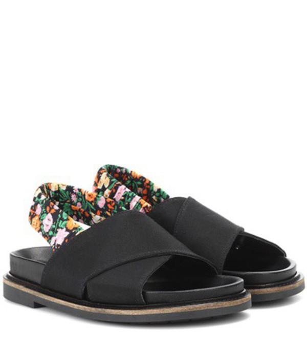 Ganni Mona sandals in black
