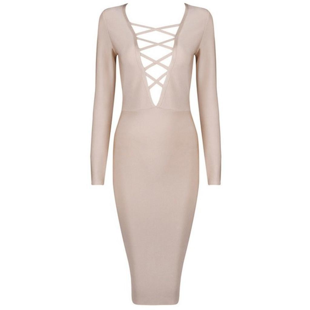 Amelia Dress in Nude – Noodz Boutique