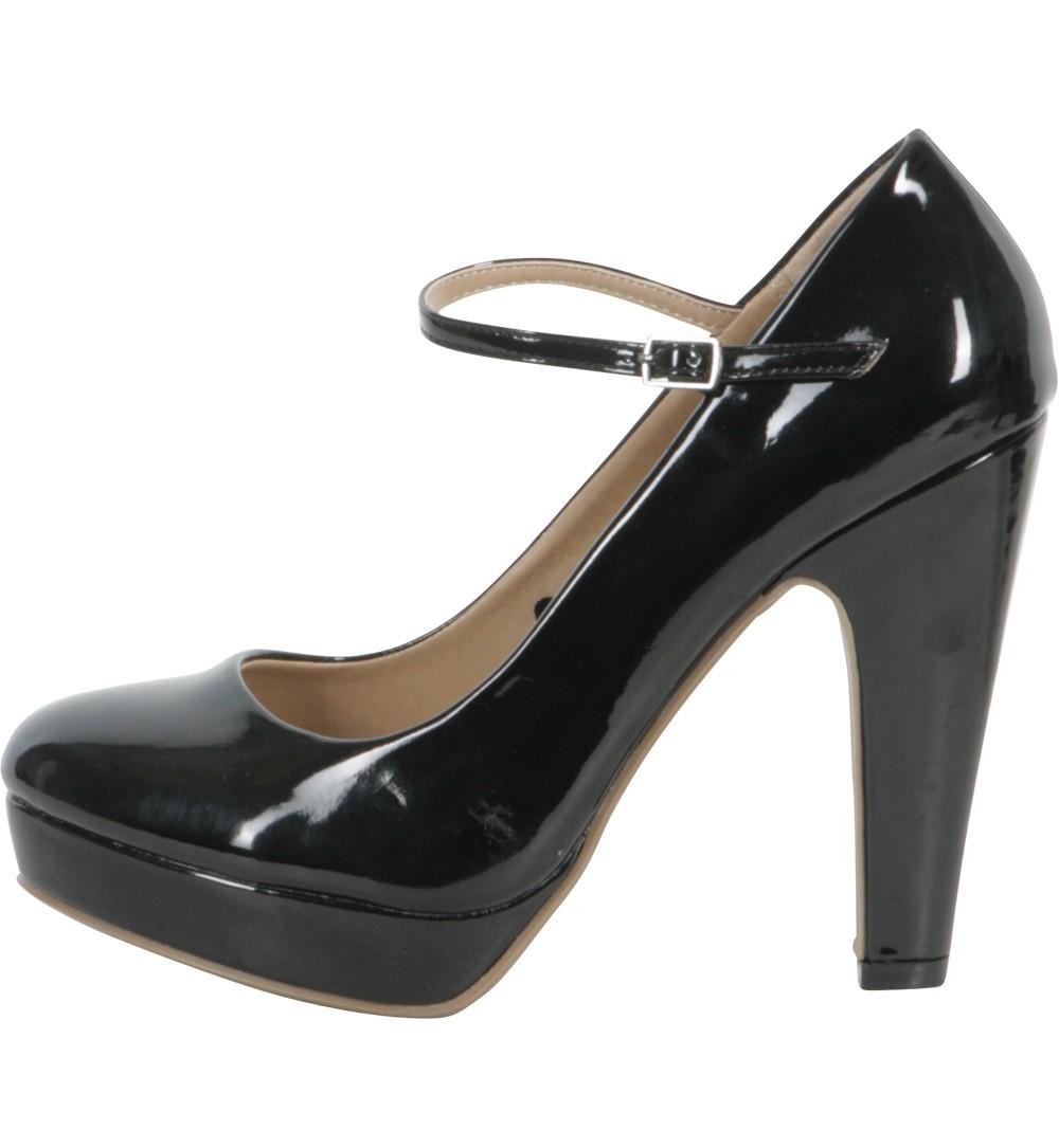 babies à talon noires - chaussures Jennyfer