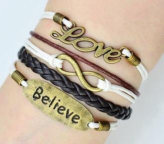 jewels bracelets infinite bracelets stacked bracelets